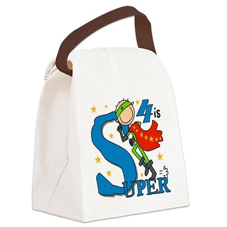 BIRTHDAYSUPER4 Canvas Lunch Bag