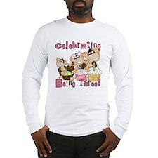 PINKMONKEYSThree Long Sleeve T-Shirt