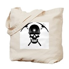 MIB Crossbones Black Tote Bag