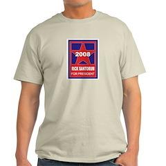 Rick Santorum for President ( Ash Grey T-Shirt