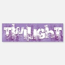 twilight large wall peel purple c Sticker (Bumper)