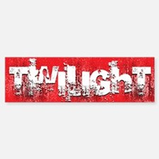 twilight large wall peel red copy Sticker (Bumper)