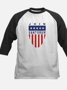 Join Rick Santorum Kids Baseball Jersey
