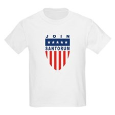 Join Rick Santorum Kids T-Shirt