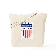 Join Rick Santorum Tote Bag