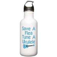 funny ukulele uke Water Bottle