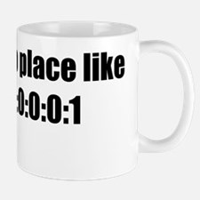 no place like black Mug