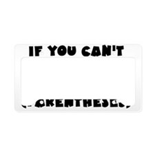 parentheses_btle1 License Plate Holder