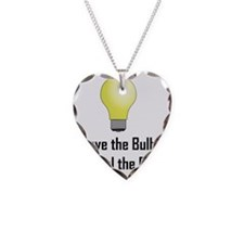 Freedom Action Bulb Back Necklace