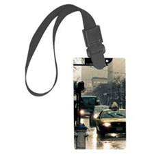 San Francisco Rain Luggage Tag