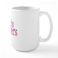 big pink 4 black Mug