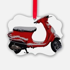 Scooter Snow Ornament