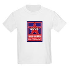 Phillip W Morrow for Presiden Kids T-Shirt