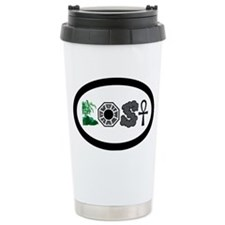 lostsymbolsovalbumper Travel Coffee Mug