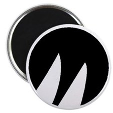 Black Moore Emblem Magnet