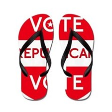 Vote Republican Flip Flops