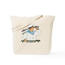 Navy Soldier Tote Bag