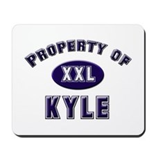 Property of kyle Mousepad