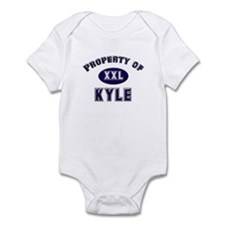 Property of kyle Infant Bodysuit