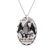 Death Before Dishonor Necklace Oval Charm