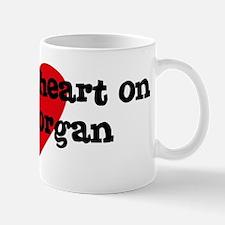 Heart on for Morgan Mug