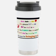 Girls hate on me_picnik Travel Mug