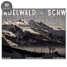Grindelwald Fog Puzzle