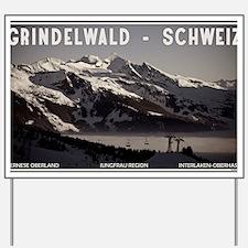 Grindelwald Fog Yard Sign