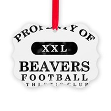 Beavers Picture Ornament