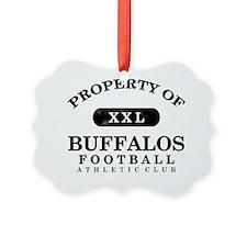 Buffalos Ornament