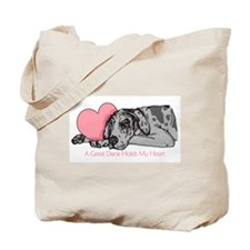 Merle UC Holds Heart Tote Bag