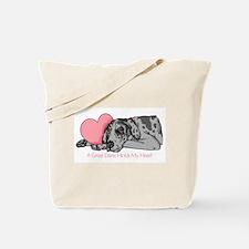 Merle UC Holds Heart Tote Bag