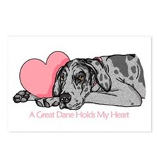 Merle UC Holds Heart Postcards (Package of 8)