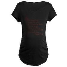 Psalms23-4 Brown No Shadow2 T-Shirt