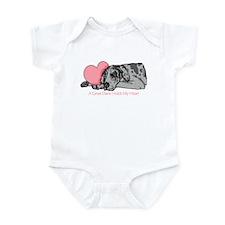 Merle UC Holds Heart Infant Bodysuit