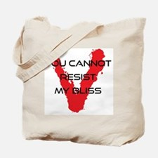 resist bliss Tote Bag