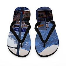 Grindelwald Wengernalpbahn Flip Flops