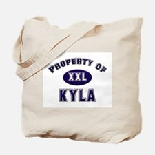 Property of kyla Tote Bag