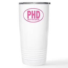 PHD pretty hot dancer wall peel Travel Mug