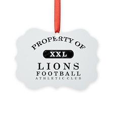 Lions Ornament