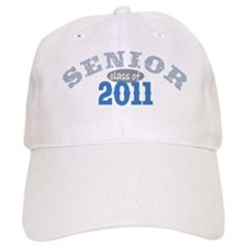 Senior 2011 Blue 2 Baseball Cap