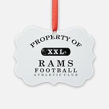 Rams Ornament