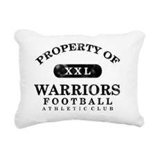 Warriors Rectangular Canvas Pillow