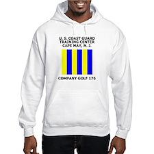 USCG Recruit Company G176<BR> Hoodie 2