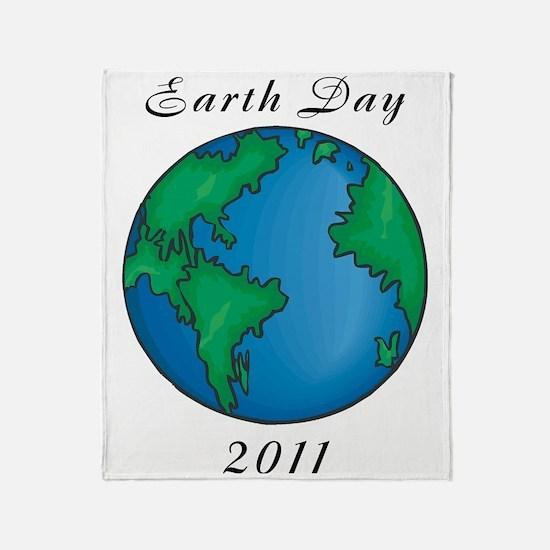 earth2711lightT Throw Blanket