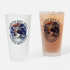 earth1211lightT Drinking Glass