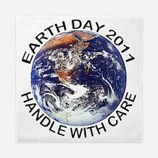 earth1211lightT Queen Duvet