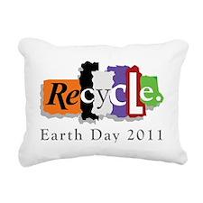 earth3911lightW Rectangular Canvas Pillow