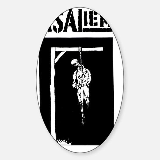 noose Sticker (Oval)