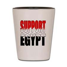 Support Egypt Rd Mag Shot Glass
